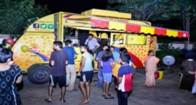 Food trucks in Hyderabad