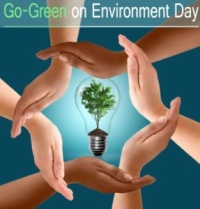 Go green this environment day