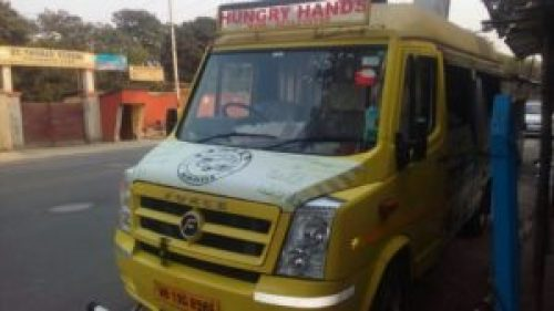 Hungry Hands The Food Truck Image courtesy-FB page-Food trucks in Kolkata