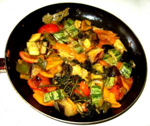 Ratatouille- French cuisine-Stuffed vegetables