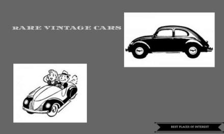 Rare Vintage cars at Vintage Car Museum