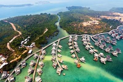 fantasy island Singapore, Thrilling Theme Park