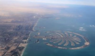 Dubai Palm islands from the air- Fun things to do in Dubai