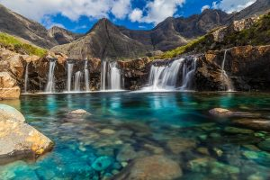 The Fairy Pools on the Isle of Skye in Scotland-Surreal places to visit