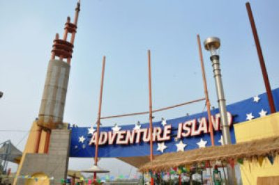 adventure island- fun places for kids in Delhi