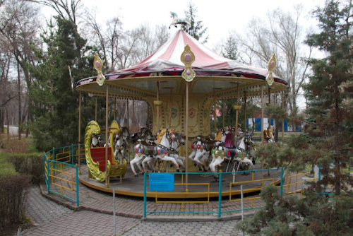 Gorky Park Carousel, Almaty Kazakhstan