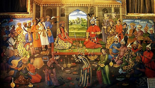Shah Tahmasp and Humayun on Nowruz