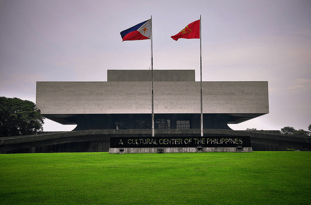cultural center of Phillipines, historical spot in Manila