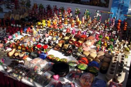 Wooden toys in Channapatna, near Mysore