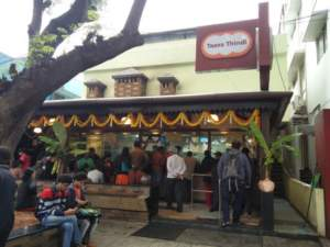 Taaza Thindi: Morning hours at the restaurant, Bangalore, Bengaluru