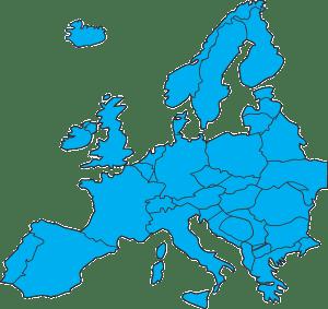 Europe eggs in a fridge