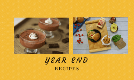 2 Recipes to try before the end of the year