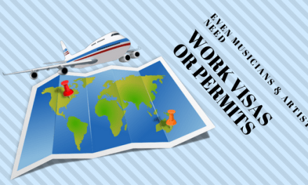 Even musicians & artists need work visas or permits for offshore tour