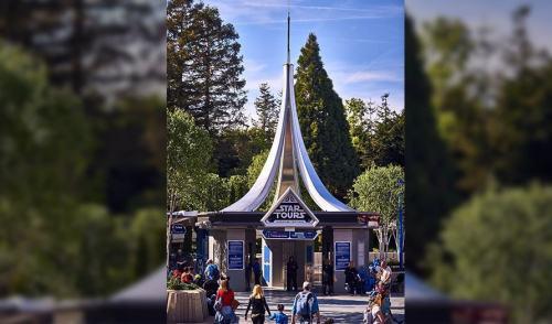 Star Wars space mountain-Disneyland Paris