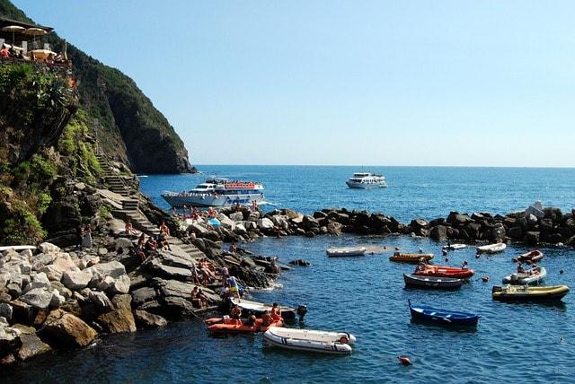 Boat, Cinque Terre