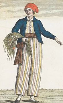Jeanne Barret, a French female sailor