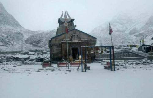 Kedarnath During Winter