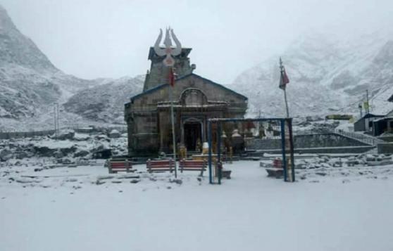 Kedarnath During Winter