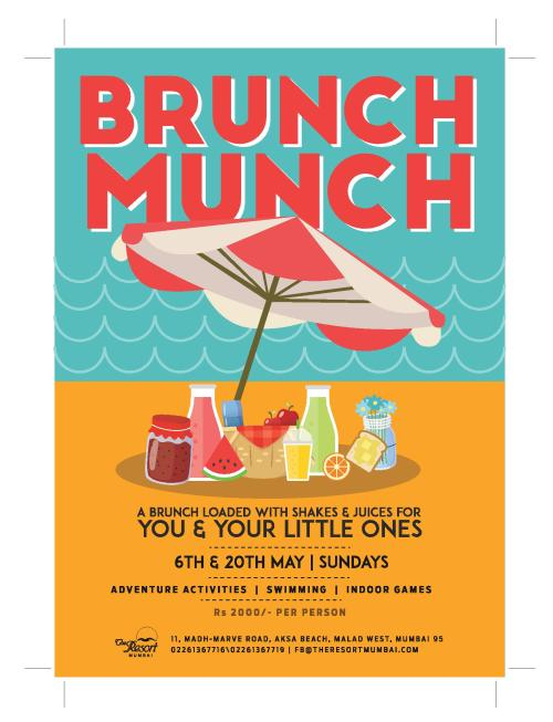 Picnic brunch for kids