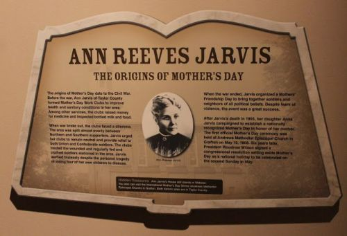 Story of Anna Jarvis- Mother's Day
