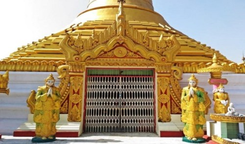 Japanese Temple Kushinagar, Buddhist travel