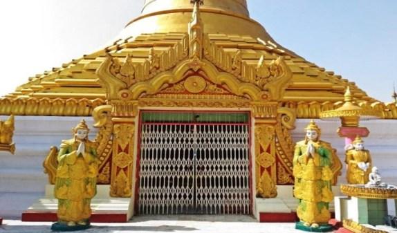 Japanese Temple Kushinagar, Buddhist travel