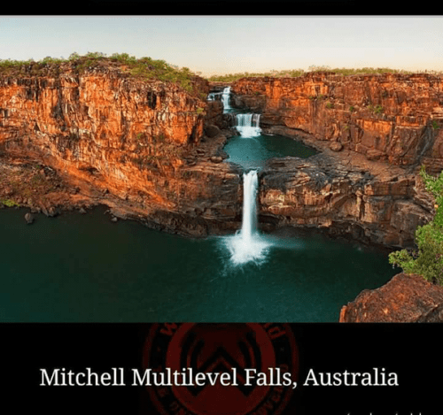 Mitchell Multilevel Falls, Austria, breathtaking places of the world