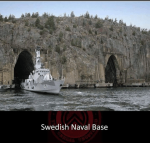 Swedish Naval Base, breathtaking places in the world