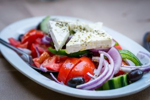 Salad, Onions, Greek, Food, Greek Salad, Tomatoes, Greek cuisine