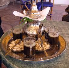 Tunisian tea with pine nuts