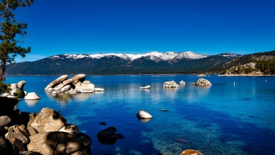 Lake tahoe, California cities