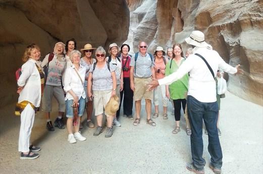 long trip, group travel