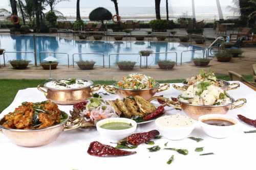 Diwali buffet at the Resort