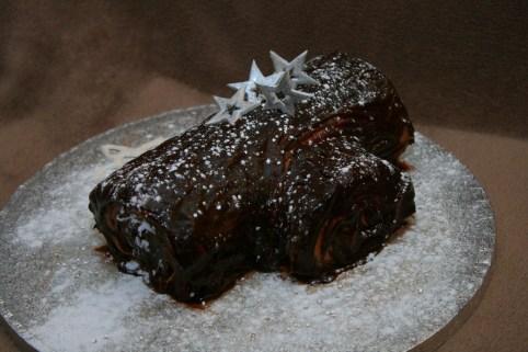 Chocolate yule log- Eldriva -Flickr, Christmas