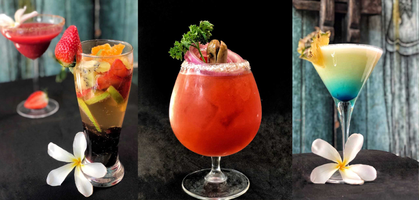 Start this year with modern cocktails, strawberries