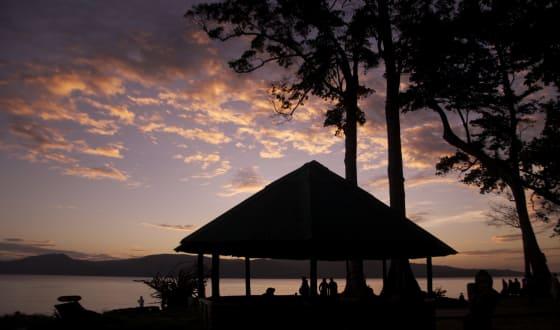 Sресtасulаr ѕunѕеt аt Chіdіуа Tарu, Andaman island