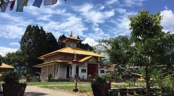 Theravada Buddhist Temple (Location- Itanagar), pilgrimage site