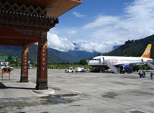 One of the most dangerous airports in the world.