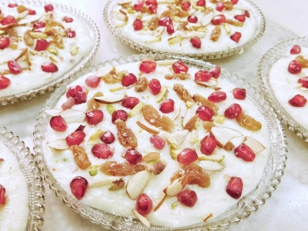 Kalamro, Bohri food