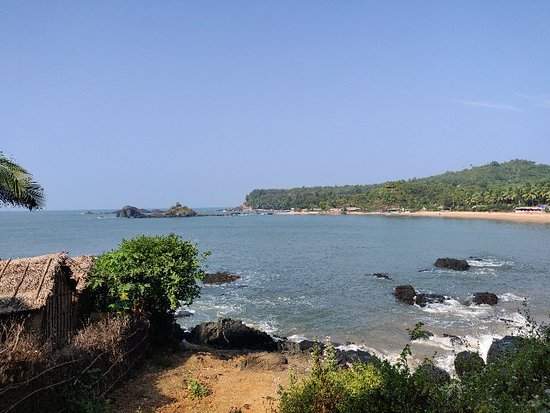 Gokarna beach surfing
