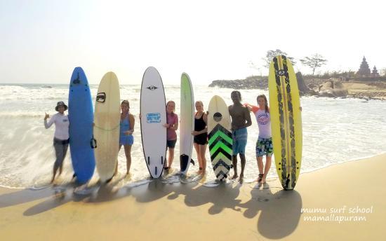 Mahabalipuram surfing
