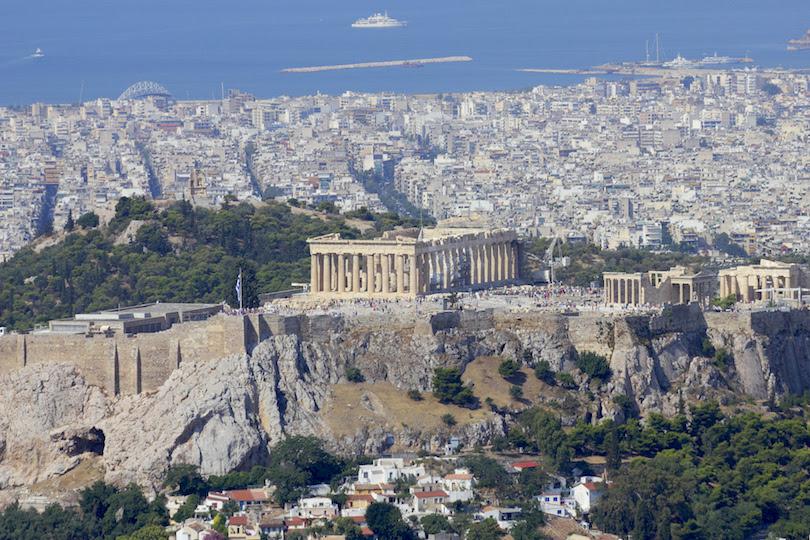 Acropolis, ancient ruins