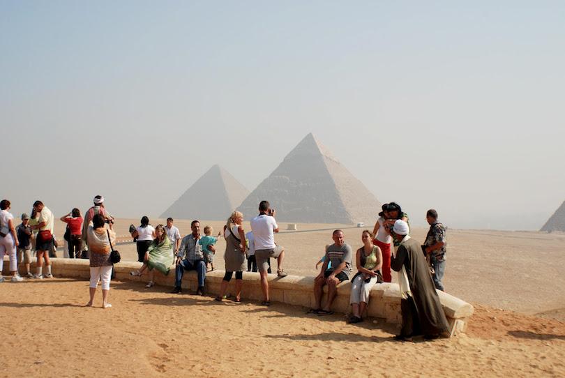 Giza, ancient ruins