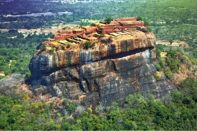 Sigiriya, ancient ruins