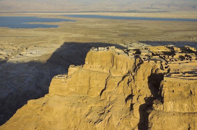 Masada, ancient ruins