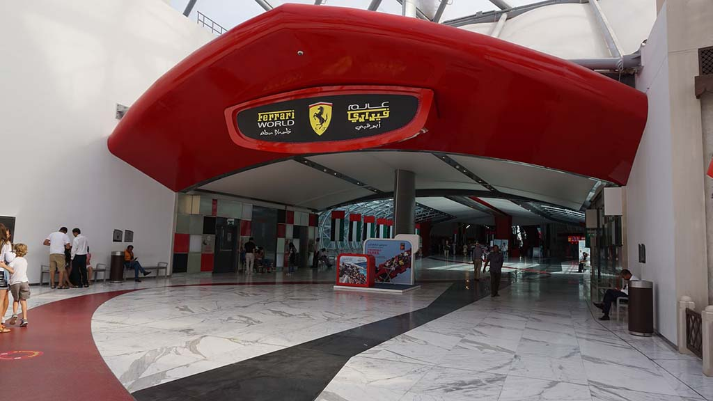 Ferrari World, UAE