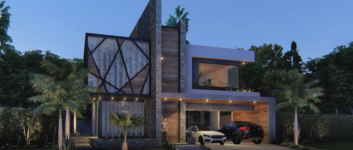 Exclusive Home Design 15×35 Meters