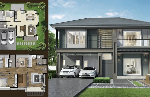 205 Sq.M House ideas with 5 bedrooms