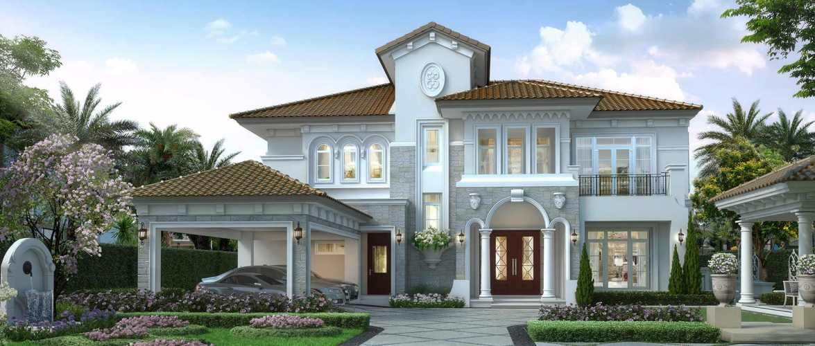 House design Plans 416sq.m. with 4 bedrooms