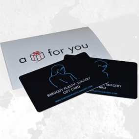 Plastic Surgery Gift Card from Best Plastic Cards